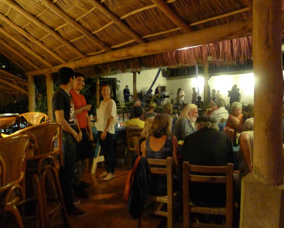 music at the octopus's garden restaurant