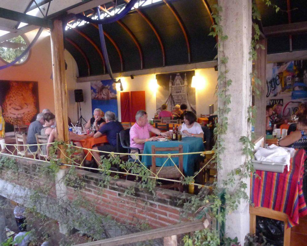 dining area at the octopus's garden restaurant